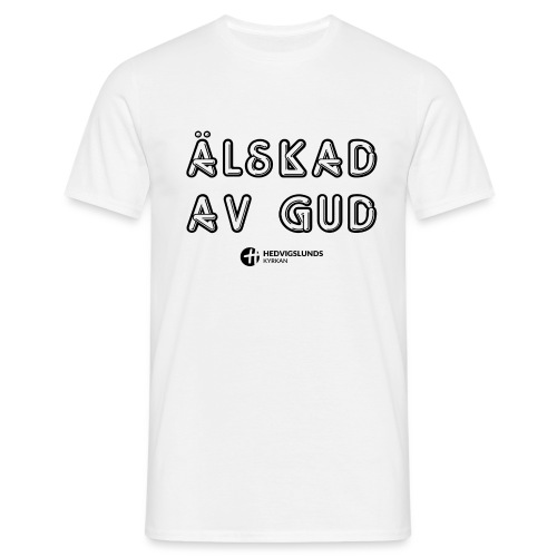 Älskad av Gud - T-shirt herr