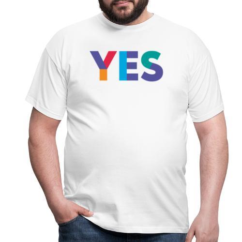 YES Scotland Logo Shirt - Men's T-Shirt