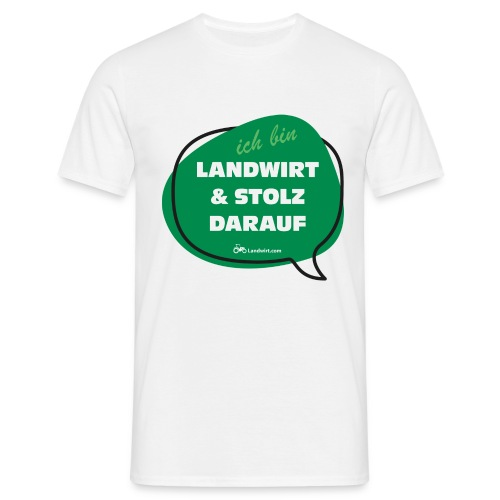 Landwirt und stolz darauf - Männer T-Shirt