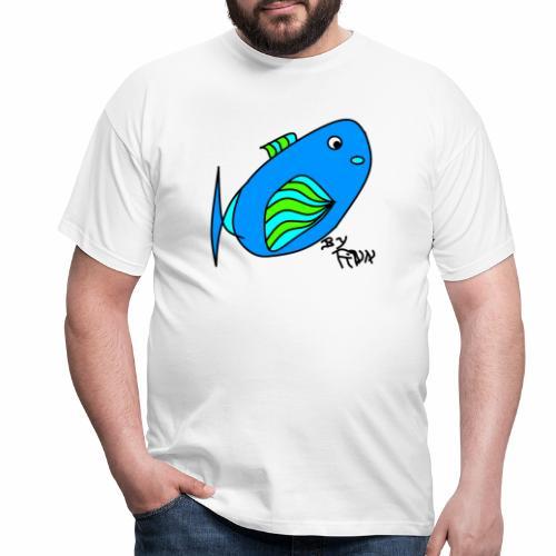 Finns Kugelfisch - Männer T-Shirt