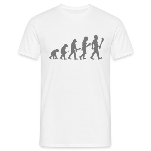 gaa evolution artwork2 - Men's T-Shirt