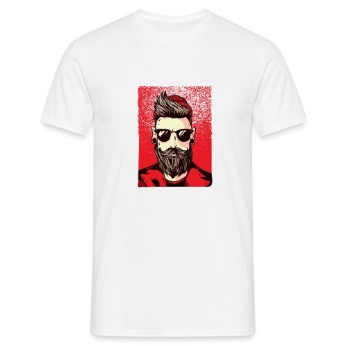 HipsterMan - Männer T-Shirt