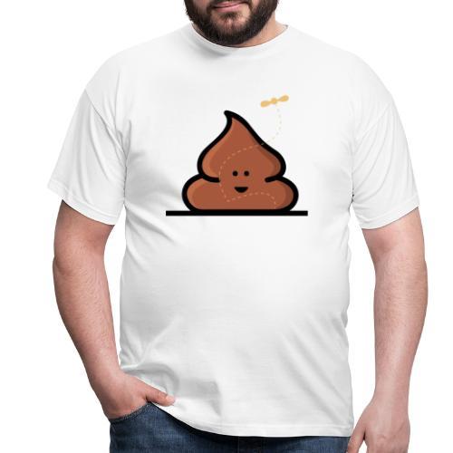Kacka mit Fliege - Männer T-Shirt