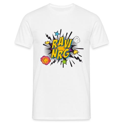 Raw Nrg comic 1 - Men's T-Shirt