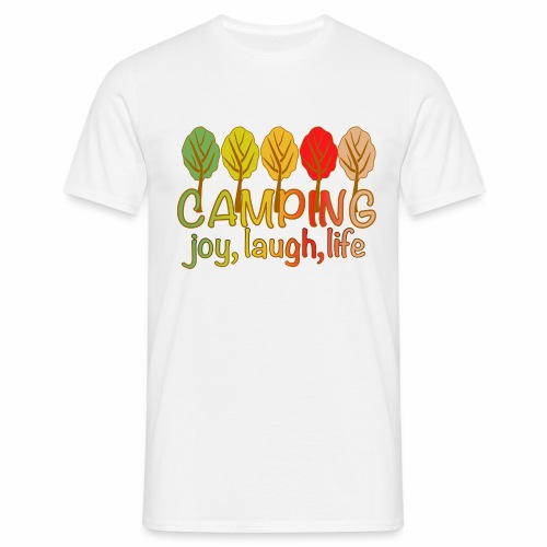 camping life - Männer T-Shirt