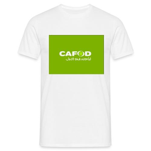 CAFOD Logo greenback - Men's T-Shirt