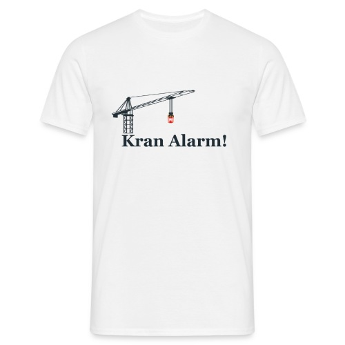 Kran Alarm - Herre-T-shirt