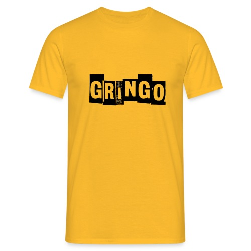Cartel Gangster pablo gringo mexico tshirt - Men's T-Shirt