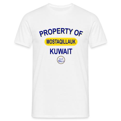 Property of MostqillaUK - Men's T-Shirt