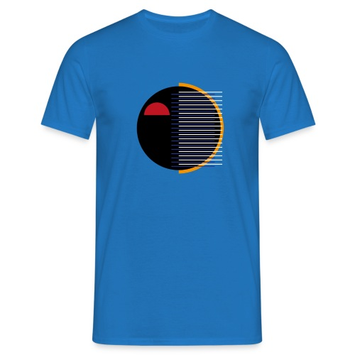 Sort ansigt - Herre-T-shirt