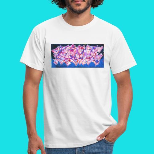 streetart #9 - Mannen T-shirt