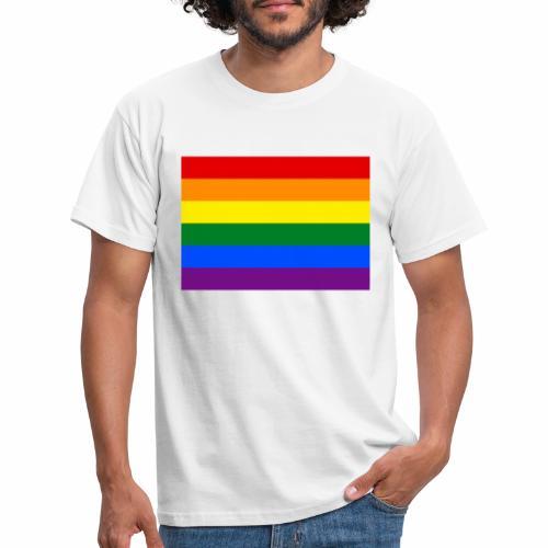 Gay Flagge - Männer T-Shirt