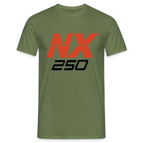 nx250 logo transparant - Mannen T-shirt