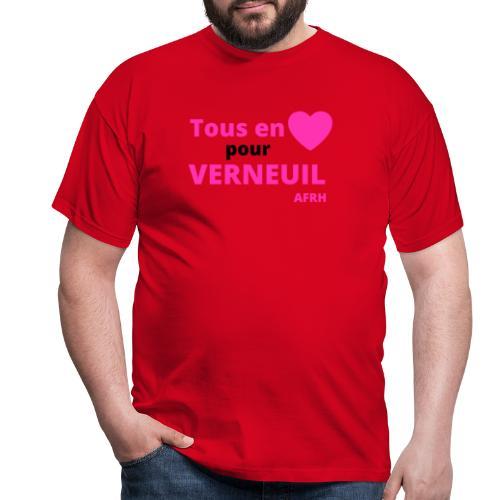 Tous en coeur pour Verneuil - T-shirt Homme