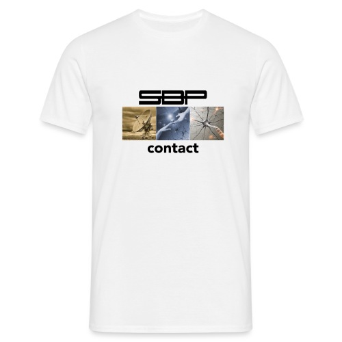 T-shirt Contact 123 white - Men's T-Shirt