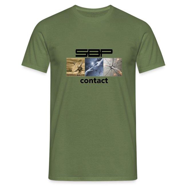 T-shirt Contact 123 white