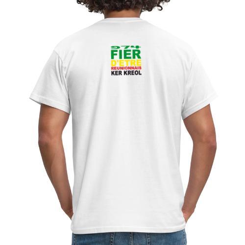 Logo fier d'etre kreol 974 ker kreol - Rastafari - T-shirt Homme