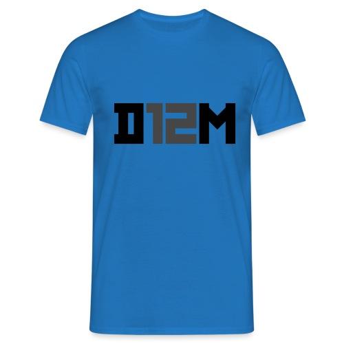 D12M: SHORT BLACK - Mannen T-shirt