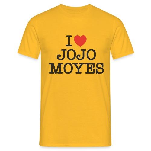 I LOVE JOJO MOYES - Herre-T-shirt