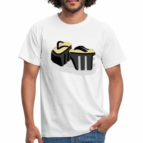 Funny Japanese shoes - Men's T-Shirt