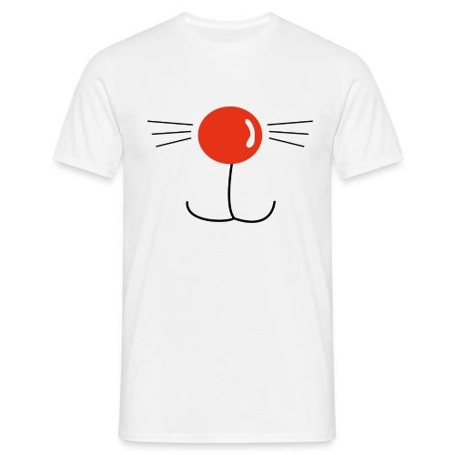 Nasenkatze - Männer T-Shirt