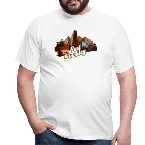 East Finchley Retro Montage - Men's T-Shirt