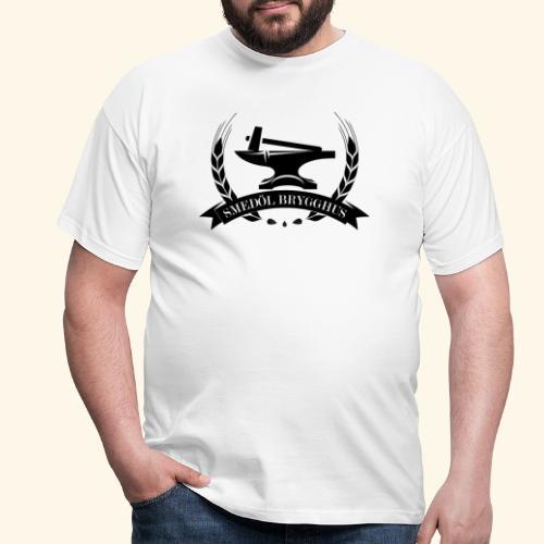 Smedöl Brygghus Logga Svart - T-shirt herr