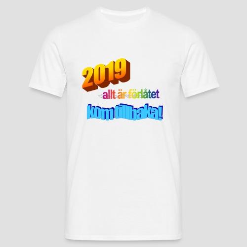 Fult tryck med word-art?? - T-shirt herr