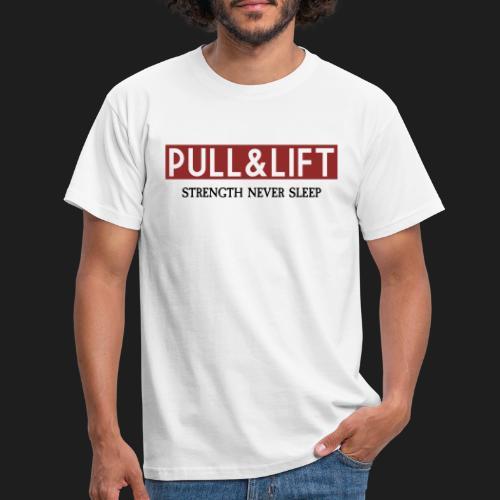 PULLLIFTSTRENGTH - Camiseta hombre