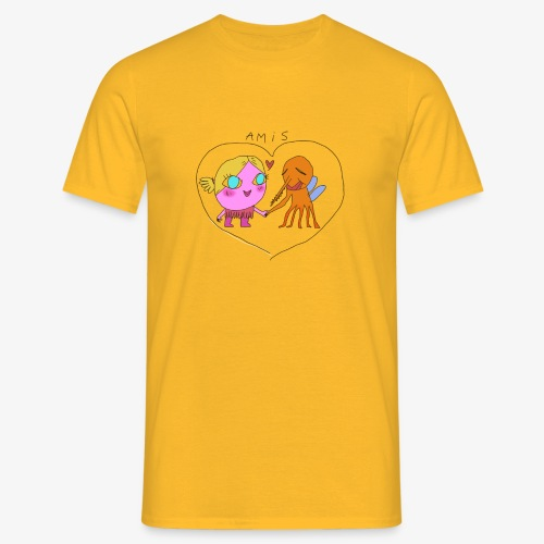 les meilleurs amis - T-shirt Homme