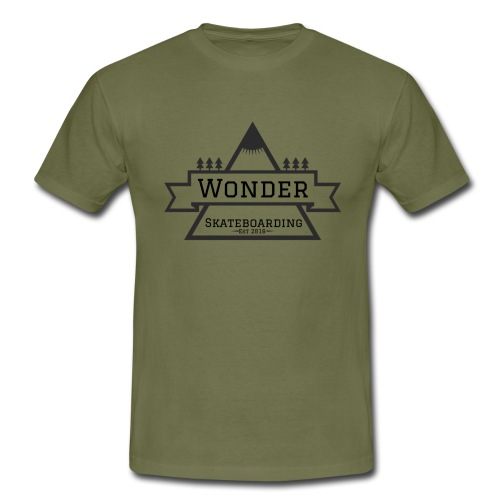 Wonder T-shirt: mountain logo - Herre-T-shirt