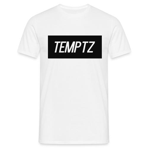 TempTz Orignial Hoodie Design - Men's T-Shirt