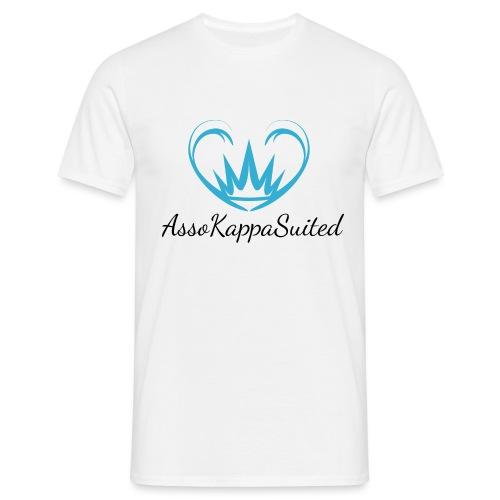 AssoKappaSuited Blu - Maglietta da uomo
