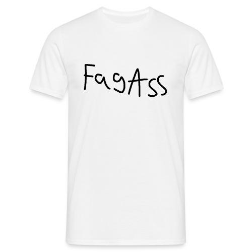 Fag Ass Logo #1 - Herre-T-shirt