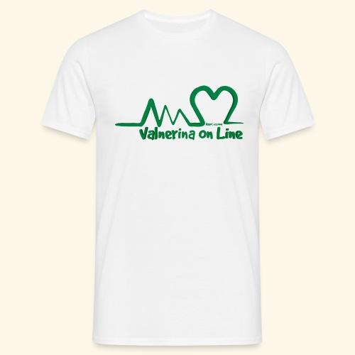 logo verde Associazione Valnerina On line - Maglietta da uomo