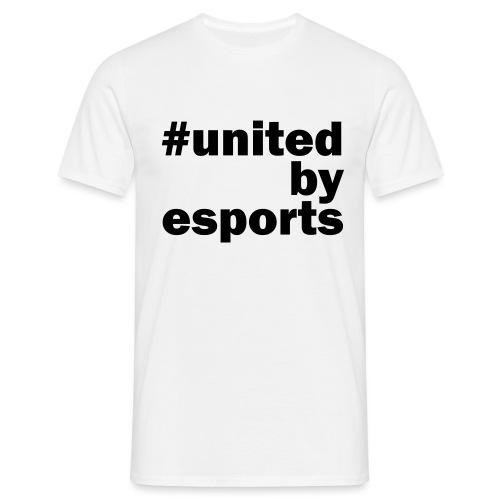United By Esports schwarz - Männer T-Shirt