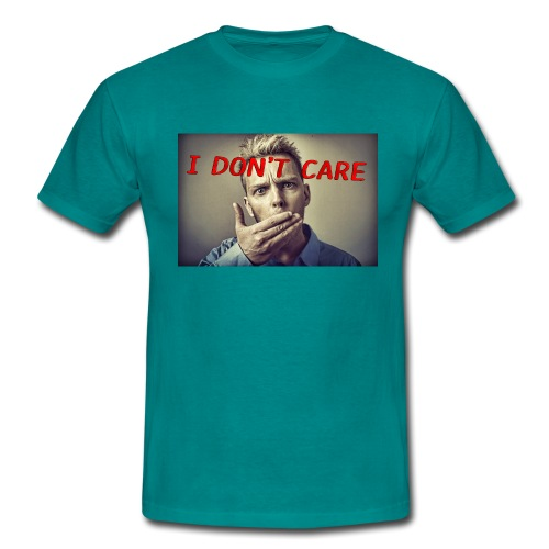 I don't care shirt - Men's T-Shirt