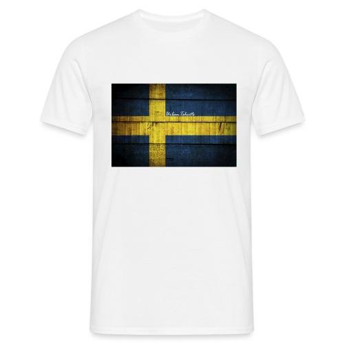 swedish-flag - T-shirt herr