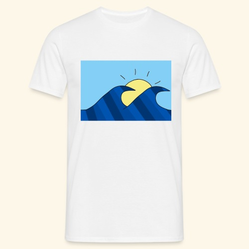 Espoir double wave - Men's T-Shirt