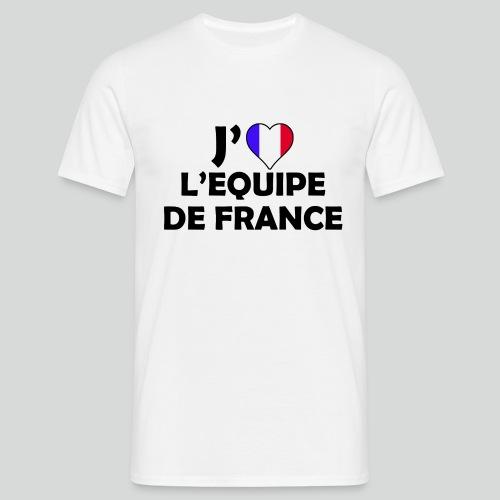 J'aime L'équipe De France (N) - T-shirt Homme