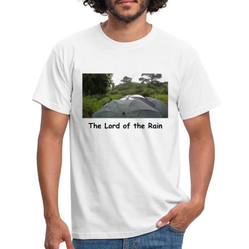 The Lord of the Rain - Neuseeland - Regenschirme - Männer T-Shirt