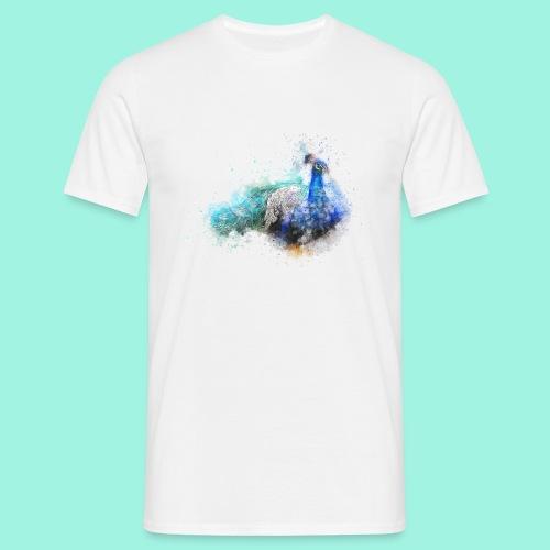 Peacock - Männer T-Shirt