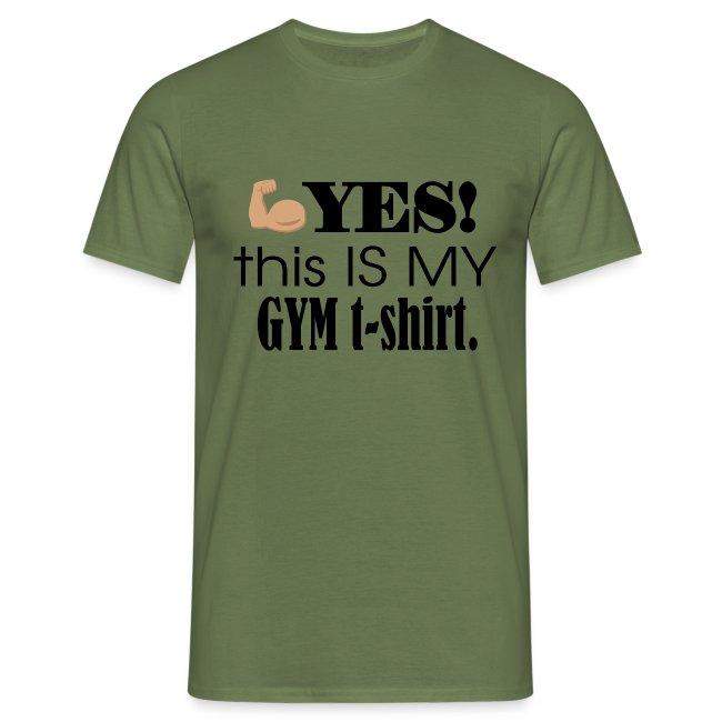 Gym tshirt