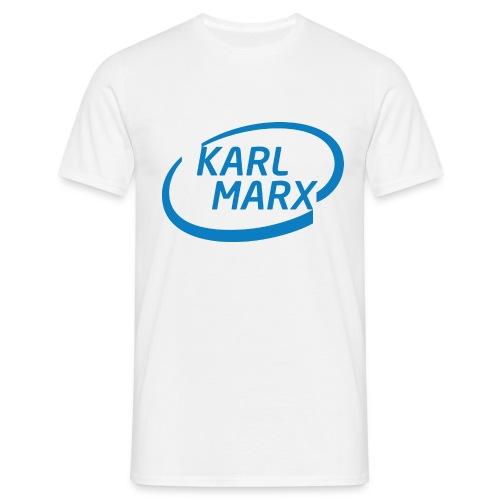 Karl Marx X Intel - Maglietta da uomo