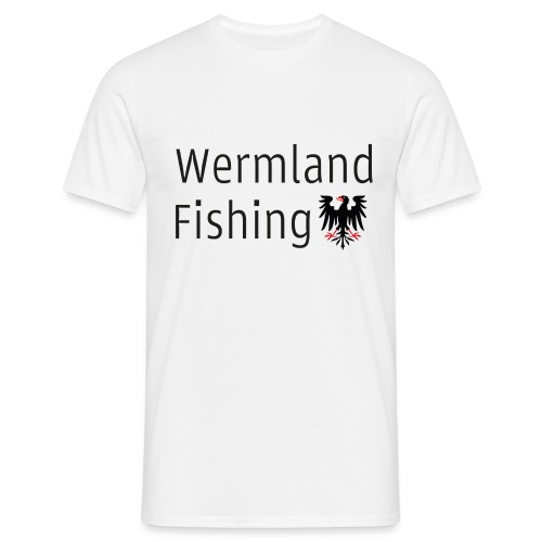 Wermland Fishing - (Black edition) - T-shirt herr