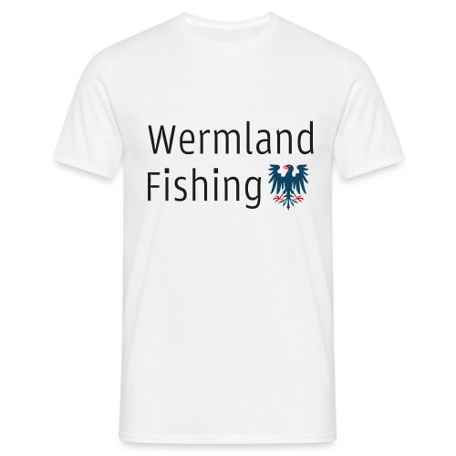 Wermland Fishing (Standard blue) - T-shirt herr