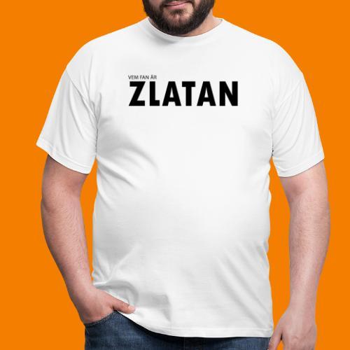 Vem fan är Zlatan - T-shirt herr