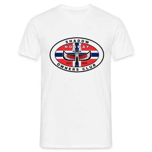 SHOC Norway Patch jpg - T-skjorte for menn