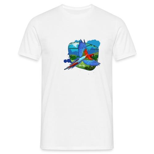 Perroquet jungle - T-shirt Homme