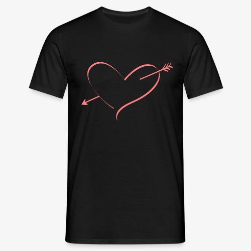 Heart Pink - Men's T-Shirt